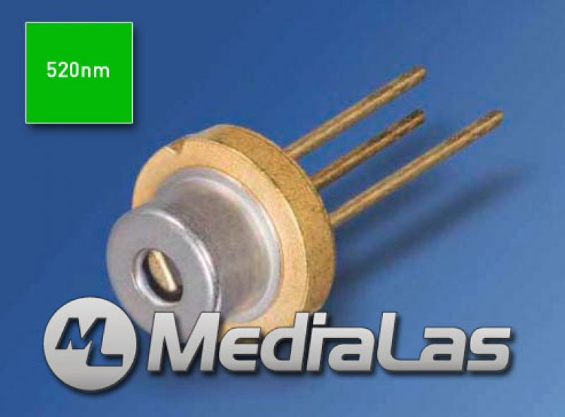 520nm 50mW OSRAM PLP520 green laser diode 3.8mm