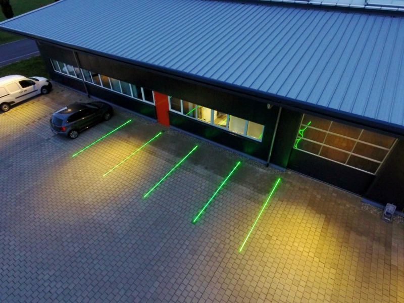 TopFloor laser GREEN for virtual floor marking, single line, 300mW