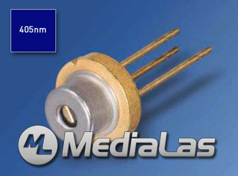 405nm 50mW UV-Blau Laserdiode 5.6mm