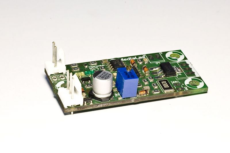 Laser diode driver 1 A, Miniature, LowDrop voltage