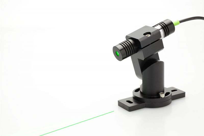 Line laser kit green compact with mount