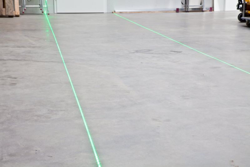 Line laser for virtual floor marking, single line, 750mW