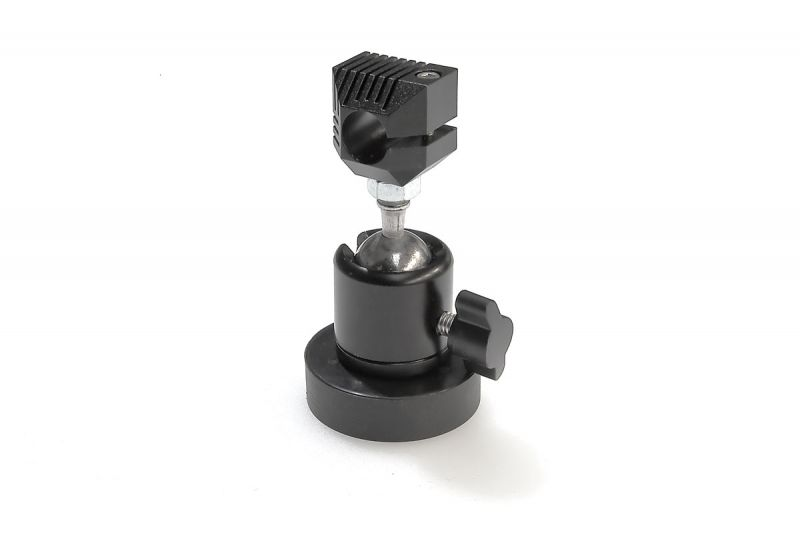 Ball head mount with mounting plate