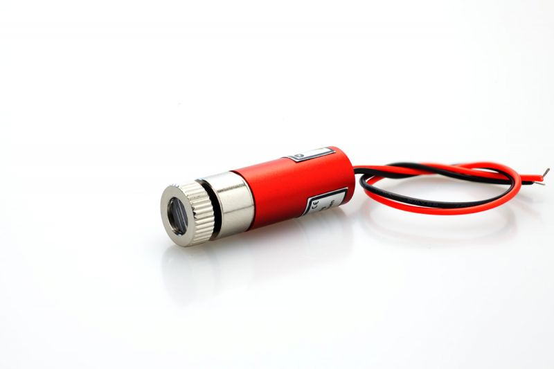 "Positioning laser module 30mW RED "" circle"""