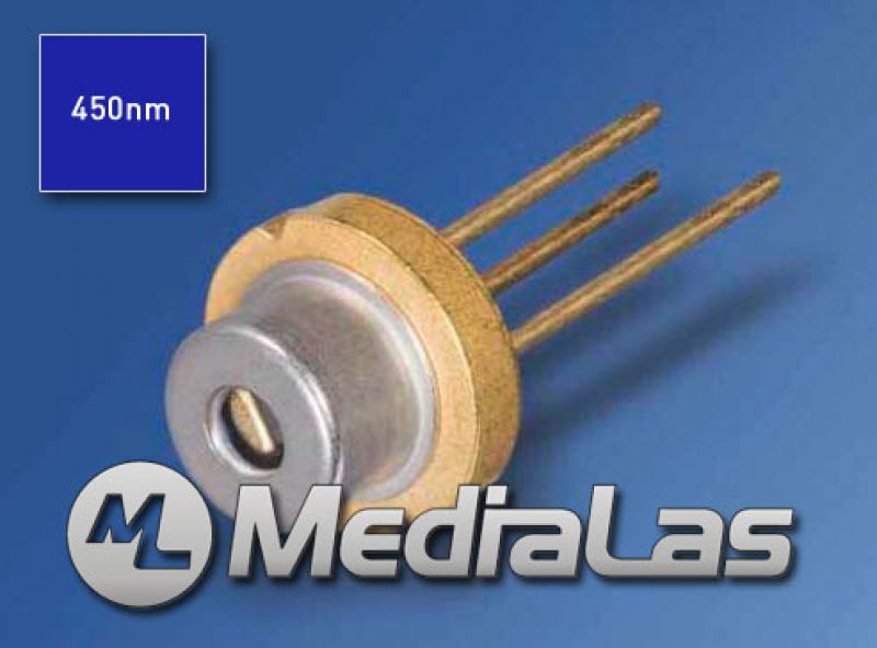 1.6W 450nm OSRAM Blue laser diode PL-TB450b, 5.6mm