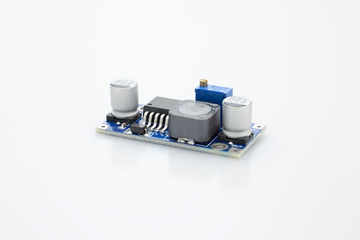 Dc Transformer Adjustable To Step Down Converter Circuit Output 15 35vdc
