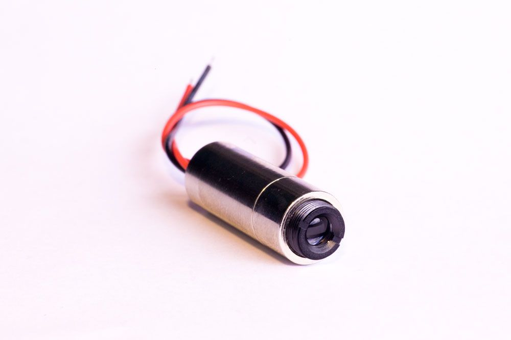 Diode laser module 40mW 450nm BLUE adjustable focus