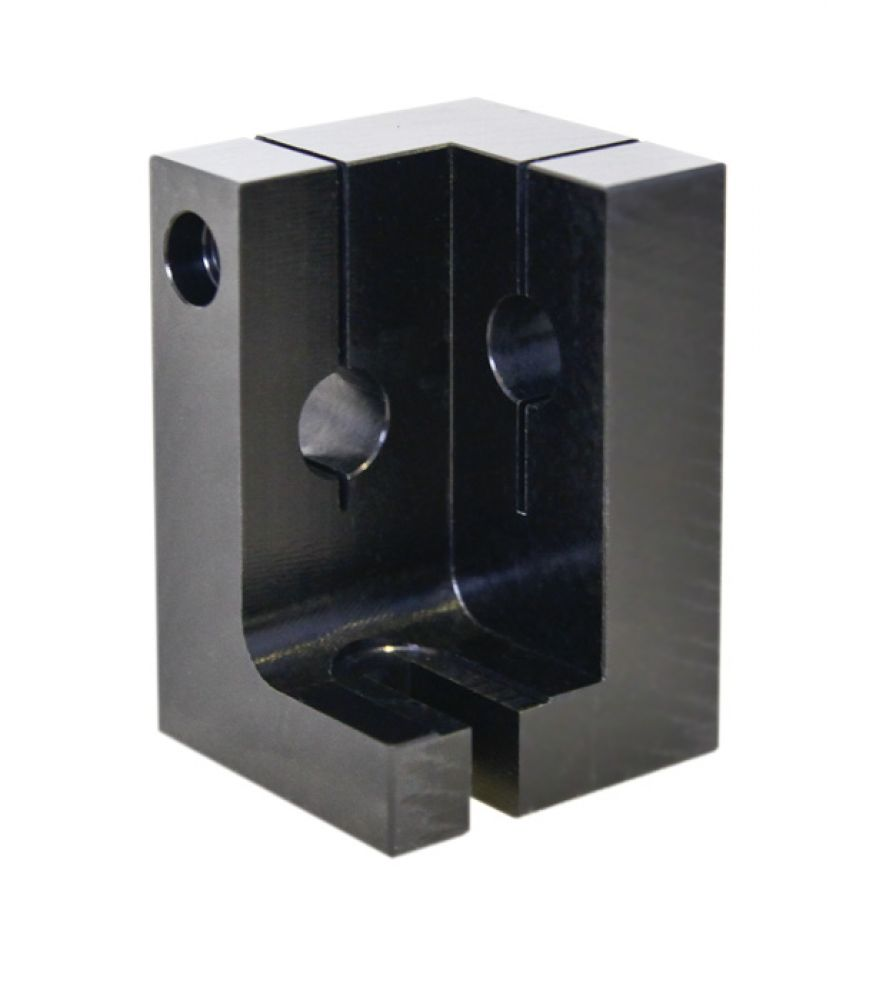 XY mounting block for CTi 6210 galvos