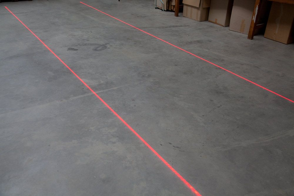 TopFloor laser RED for floor marking, 800mW