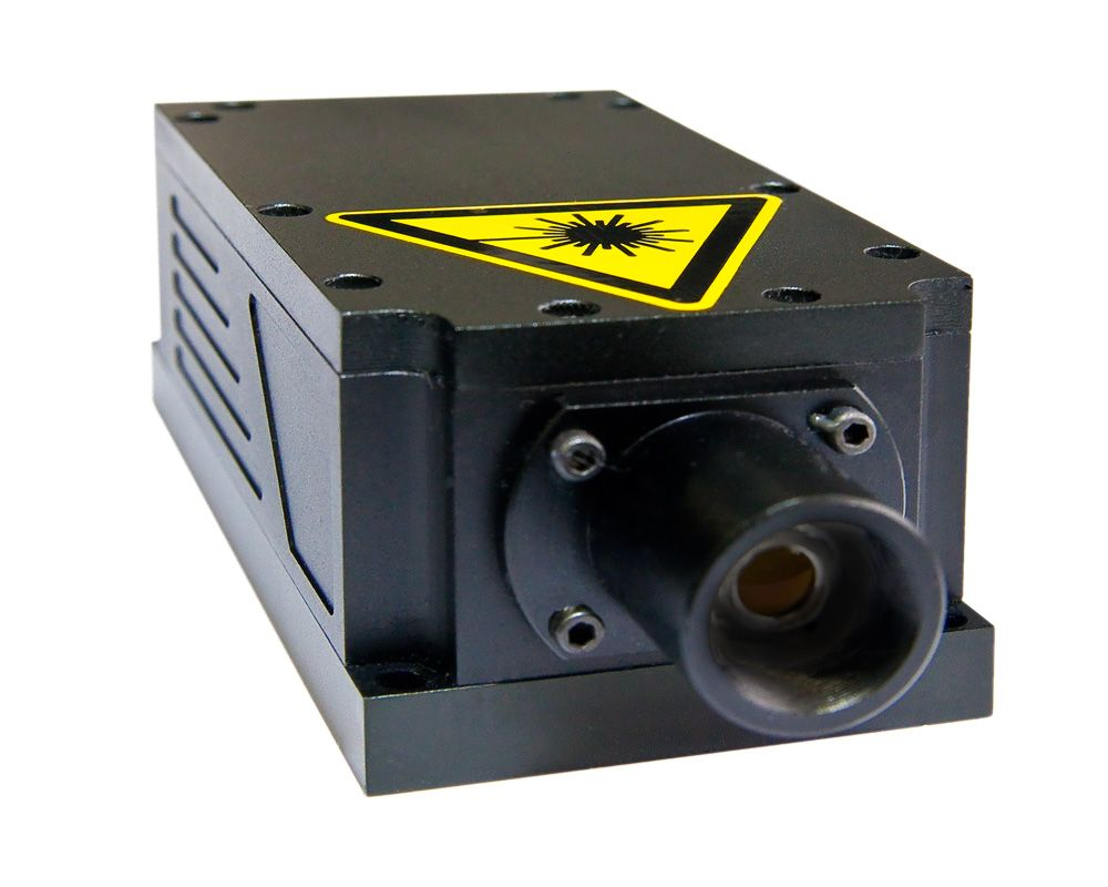 DPSS green laser 1500 mW OEM set