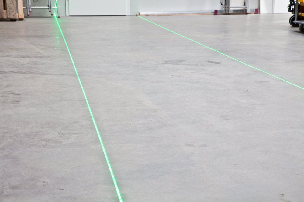 Line laser GREEN for virtual floor marking, single line, 750mW