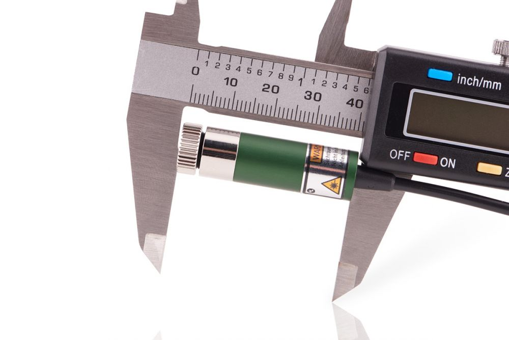 Line Laser module GREEN 5mW, adjustable focus, 12mm housing