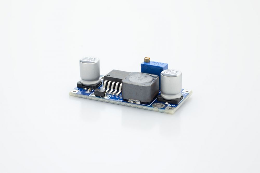 DC/DC Step Down circuit, output 1.5 - 35VDC adjustable
